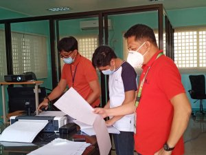 Orientation on the Operation and the Maintenance of Portable Embossers