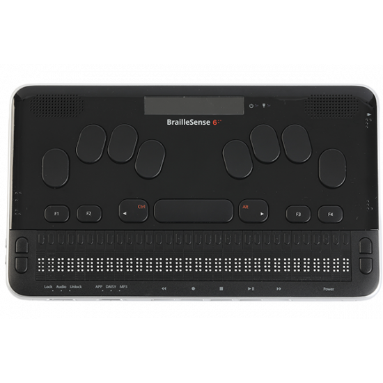 BrailleSense 6 - AVAILABLE NOW!