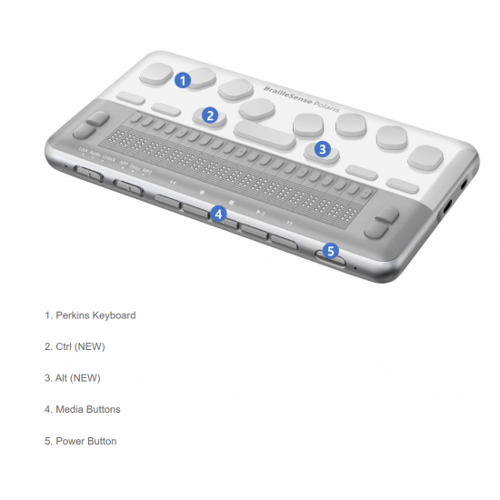 BrailleSense Polaris Mini