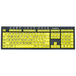 ZoomText Large Print Keyboard (Version 4)