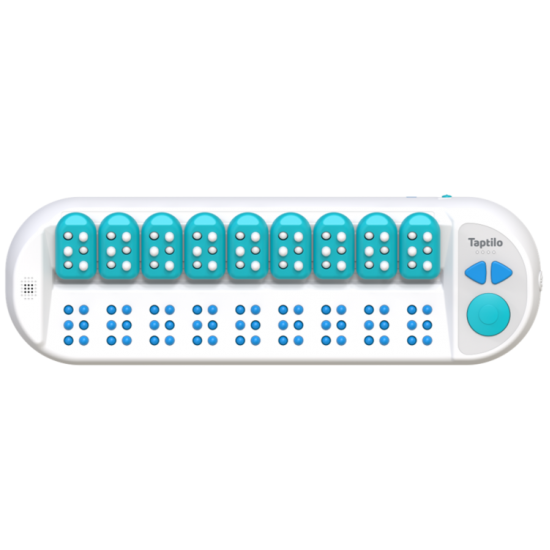 Taptilo 2.0+ - Smart Braille Learning Device
